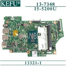 KEFU 13321-1 carte mère dorigine pour Dell Inspiron 13-7348 avec carte mère dordinateur portable I7-5500U