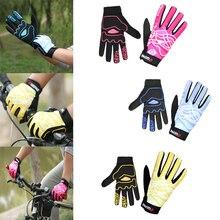 Summer Cycling Gloves Windproof Full Finger Bike Bicycle Motobike Gloves Wear Resistant  Outdoor Sports Glove Unisex Men Women