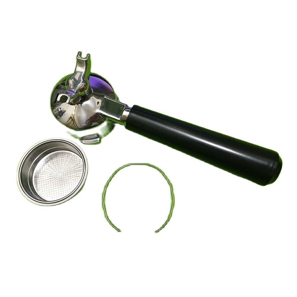 60 мм нержавеющая сталь 15-20 бар Запчасти для кофеварки Эспрессо Держатель фильтра из нержавеющей стали 51 мм portafilte rwith фильтр