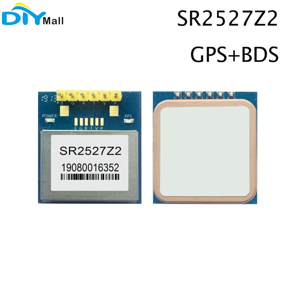 SR2527Z2 GPS + BDS двухрежимное Спутниковое позиционирование, навигация, измерение и управление PPS таймерный модуль GPS модуль AT6558R