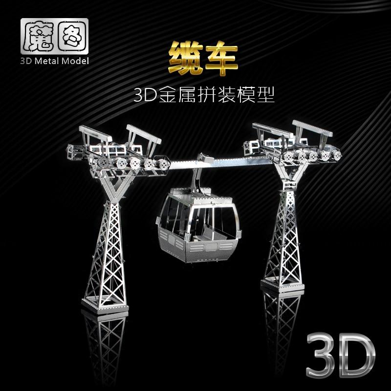 Nanyuan estrela de ferro 3d metal puzzle cabo modelo do carro kits diy laser montar quebra-cabeças para adultos aprendizagem brinquedos para crianças
