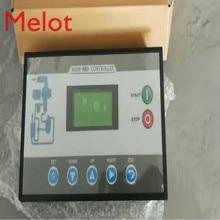 Le compresseur dair de vis partie le panneau de contrôleur de PLC de MAM 880 avec le schéma de câblage