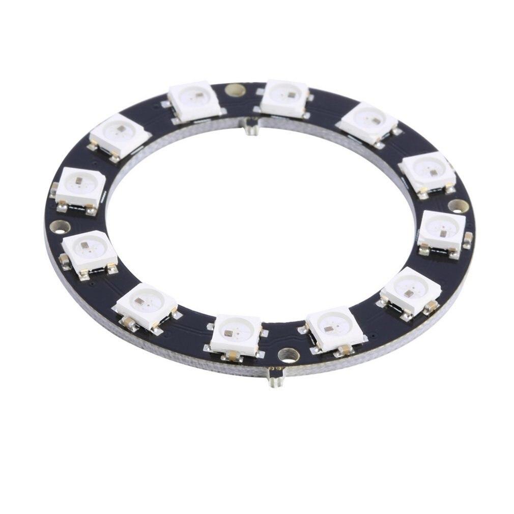 ¡! 5050 12-Bit RGB LED anillo WS2812 redondo decoración bombilla perfecta para la promoción Arduino