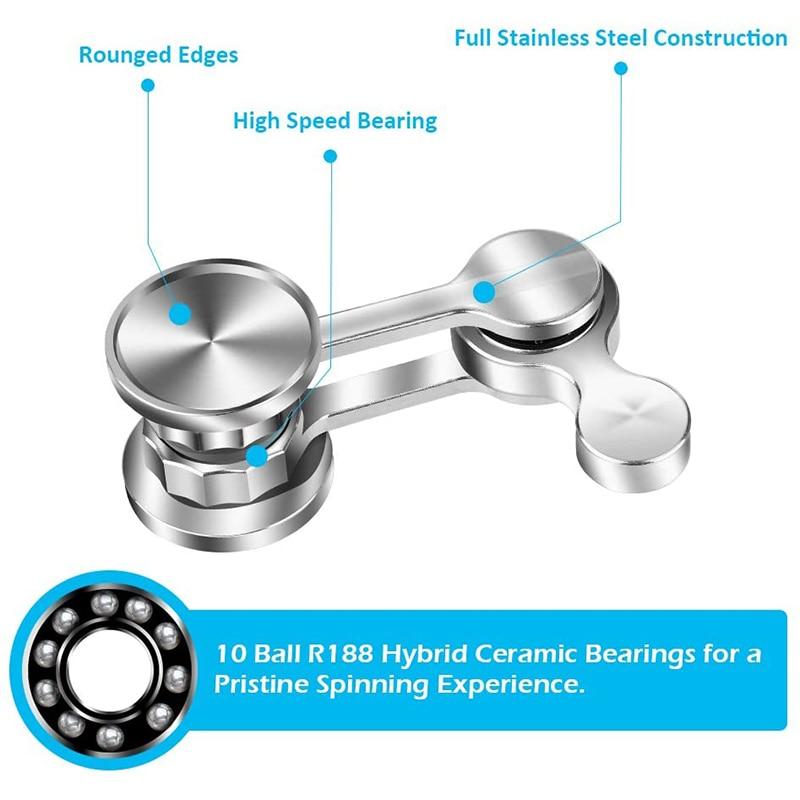 Fingertip Spinner Adult Toy Finger Spinner Anti-stress Hand Spinner EDC Toy Gift for Kid enlarge