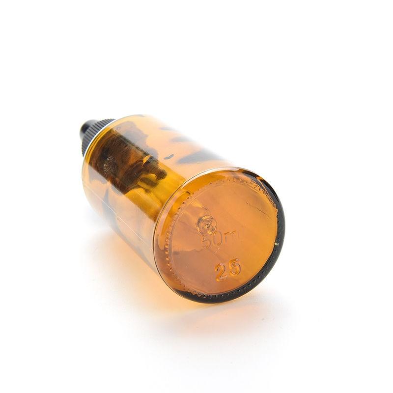 10/15/30/50/100ml Reagent Eye Dropper Amber Glass Bottle Lotion Sprayer Essential Oil Spray Aromatherapy Liquid Pipette Bottle