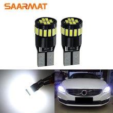 2Pcs W5W T10 LED Lamp Auto Car Interior Light for Volvo XC60 XC90 S60 V70 S80 S40 V40 V50 XC70 V60 C30 850 C70 XC 60 12V White