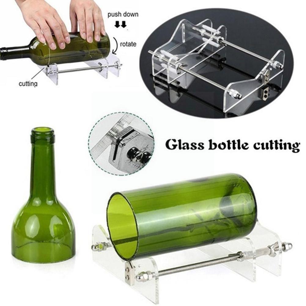 Инструмент для резки стеклянных бутылок, профессиональный инструмент для резки бутылок, инструмент для резки пива, машина для резки бутыло...