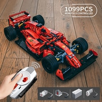 Creator Expert Famous RSR Super Racing Car F1 GTE Sports Vehicle Building Blocks Moc Model Modular Bricks Technical Boys Toys