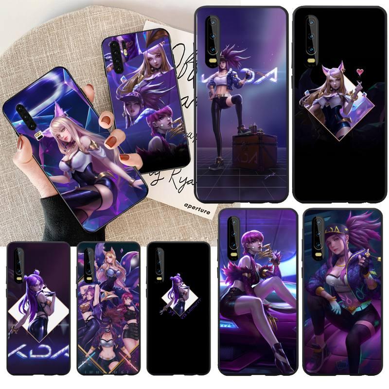 NBDRUICAI League of Legends kda kaisa Soft Silicone TPU Phone Cover for Huawei Honor 20 10 9 8 8x 8c 9x 7c 7a  Lite view pro