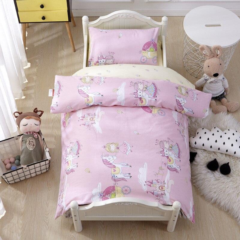 3 pcs set kit de roupa de cama jogo de cama berco do bebe do jardim de infancia cama