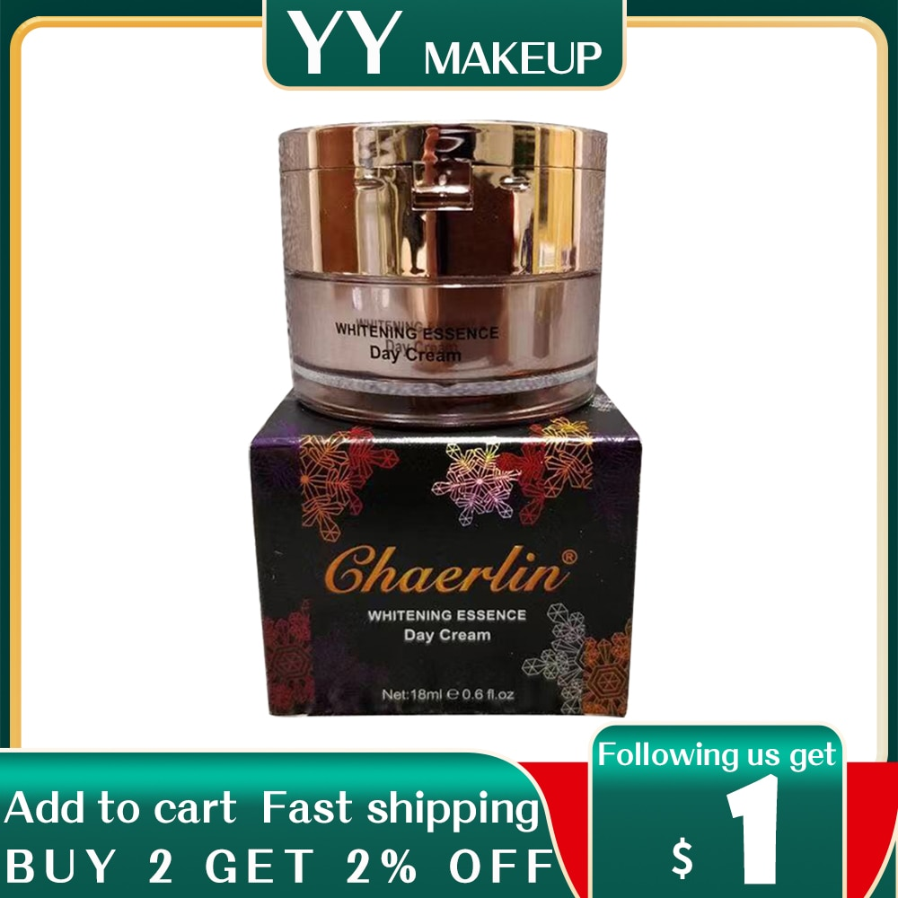 12pcs/lot Excellent CHAERLIN fade out day cream for fades-out ages spots brown skin marks dark pigmentation spots