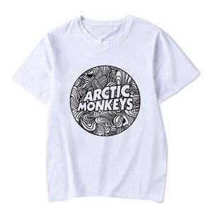 Arctic Monkeys Casual T Shirt Male Funny Rock Music Fashion High Quality Streetwear Harajuku Lady Tee Shirt Slim Fit