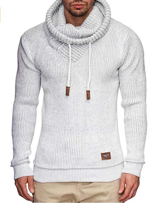 Zogaa camisola de malha masculina casual o pescoço fino ajuste malhas 2020 outono dos homens camisolas pulôver pulôver pulôver pulôver masculino puxar homme S-3XL