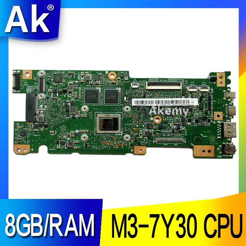 AK UX330CAK 8GB/RAM M3-7Y30 وحدة المعالجة المركزية ل ASUS ZenBook UX330CA UX330C UX330 اللوحة الأم اختبار 100% العمل الأصلي اللوحة الرئيسية