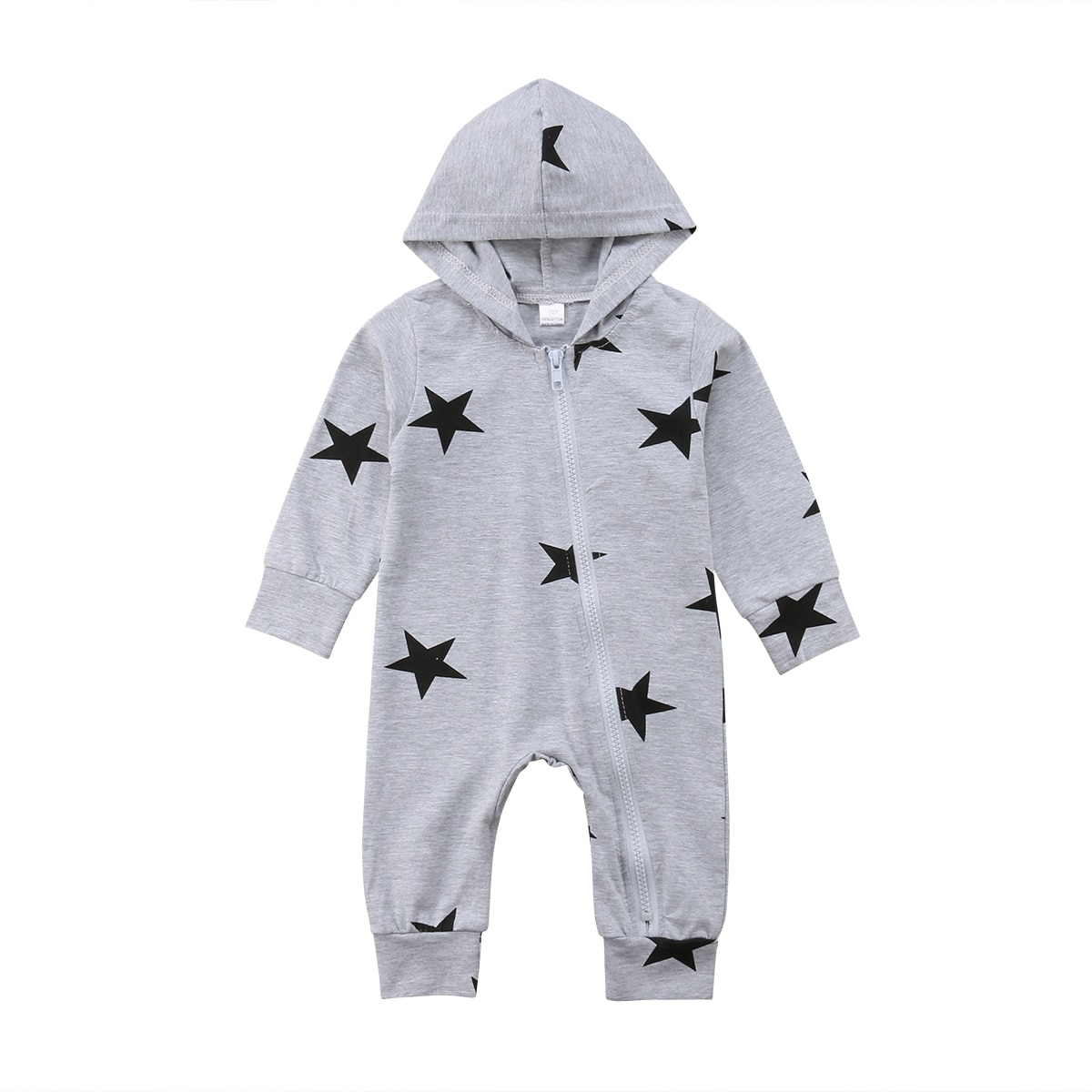 New Fashion Hot Toddler Newborn Baby Boy Girls Hoodie Jumpsuit Long Sleeve Kid Romper Hooded Clothes Children's Clothing Outfits