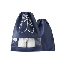 Bolsa de almacenamiento de zapatos de viaje, paquete de 10 Uds. De bolsas para la boca para zapatos, Paquete Impermeable, equipaje, organizador para el hogar, bolsa de polvo transparente para zapatos