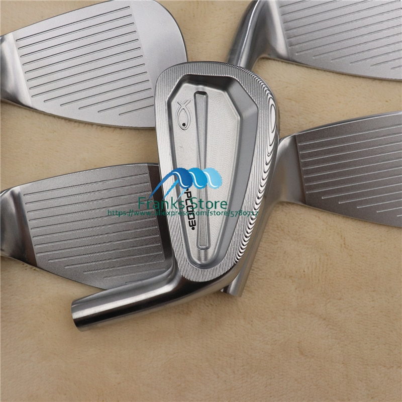 Golf clubs soft iron forged fish PC-003  golf clubs iron set 4-9.P(7pcs) with headcover free shipping