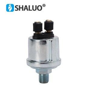 VDO Universal generator Oil Pressure Sensor 1/4NPT 13mm 0-10bars diesel genset part Pressure Measuring Instruments alarm sensor