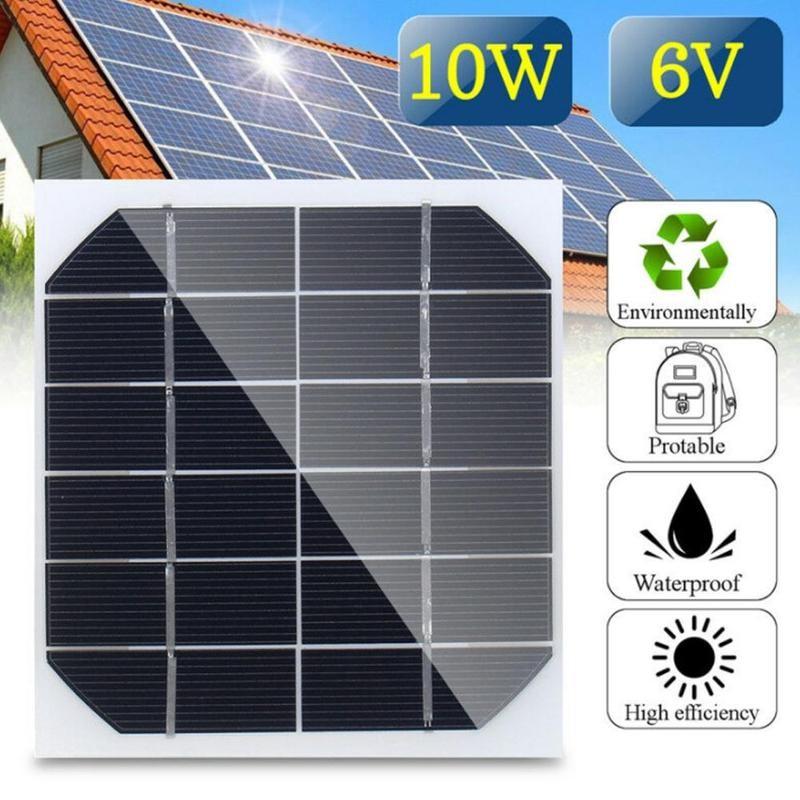 1Pcs 2W 6V Mini Solar Panel Cell Power Module Battery Light Toys Charger Best