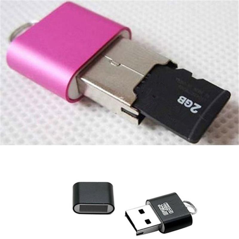 Портативный мини USB 2,0 Micro SD TF T-Flash кардридер адаптер флэш-накопитель SD флэш-память оптовая продажа
