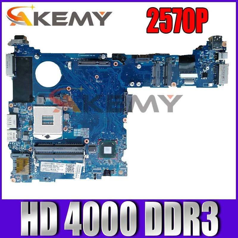 لوحة أم للكمبيوتر المحمول HP elitebook 2570P QM77 GMA HD 4000 DDR3 685404-001 100% تم اختبارها بالكامل