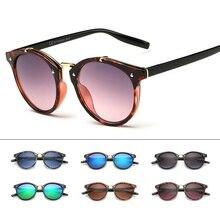 2021 Classic Brand Designer Sunglasses Women Men Retro Round Sun Glasses Woman shades Mirror Eyewear