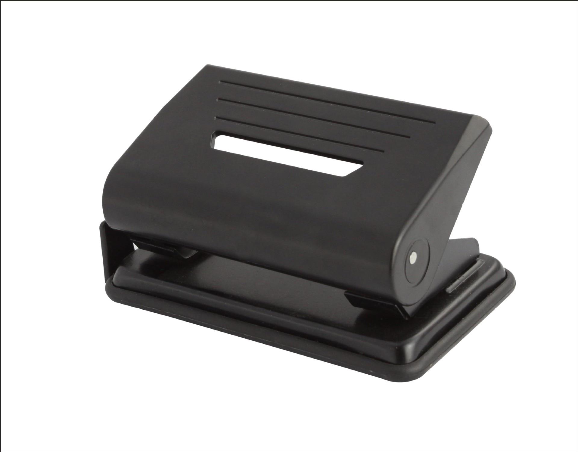 Perforadora de oficina de dos agujeros perforadora de dos agujeros con regla de 20 piezas