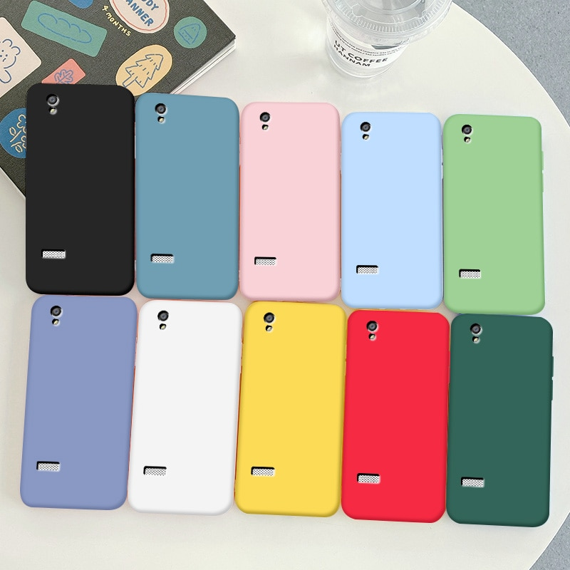 For OPPO Morrir 5 Case Soft TPU Silicone Case For OPPO Morrir 5 Simple Macaron Colors Candy  Black S