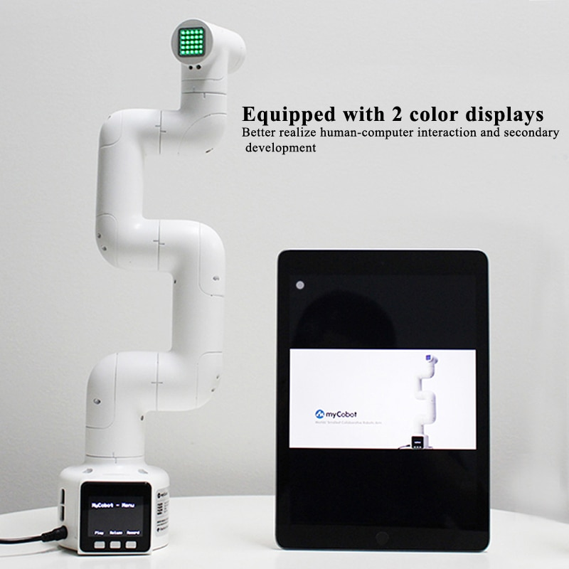 NEW Mycobot Robotic Arm 6-Axis Robot Ros Visual Recognition Children'S Programming Stem Education for Legos enlarge