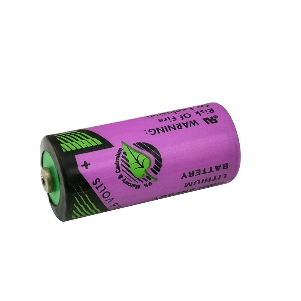 Bateria de lítio do cnc TL-4955 er14335 14335 2/3aa 3.6v do plc dos pces tl4955 para tadiran feita em israel