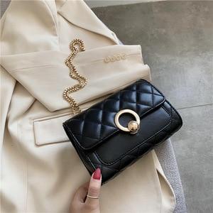 Anreisha Crossbody Bags For Women Female bag 2021 new Fashion female bag Chain small square bag Single Shoulder  Messenger bag