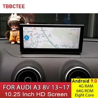 android 9 0 8 core 4g 64g for audi a3 8v 20132017 mmi 2g 3g rmc hd screen stereo android car multimedia player auto radio