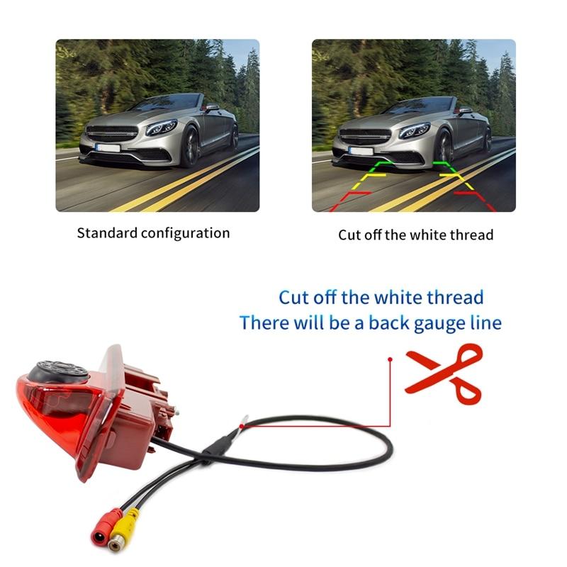 170 degree Backup RearView Camera Brake Light & 4.3Inch Monitor for Renault Trafic Opel/Vaxhall Vivara Custom 2014