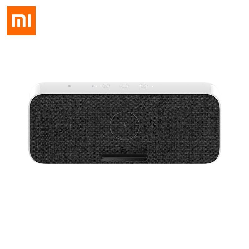 Xiaomi-مكبر صوت عالمي ، بلوتوث 5.0 ، مكبر صوت ، شحن لاسلكي سريع 30 واط ، Qi ، NFC ، صوت مزدوج ، لهاتف iPhone 11 Mi 9/10 Pro ، أصلي