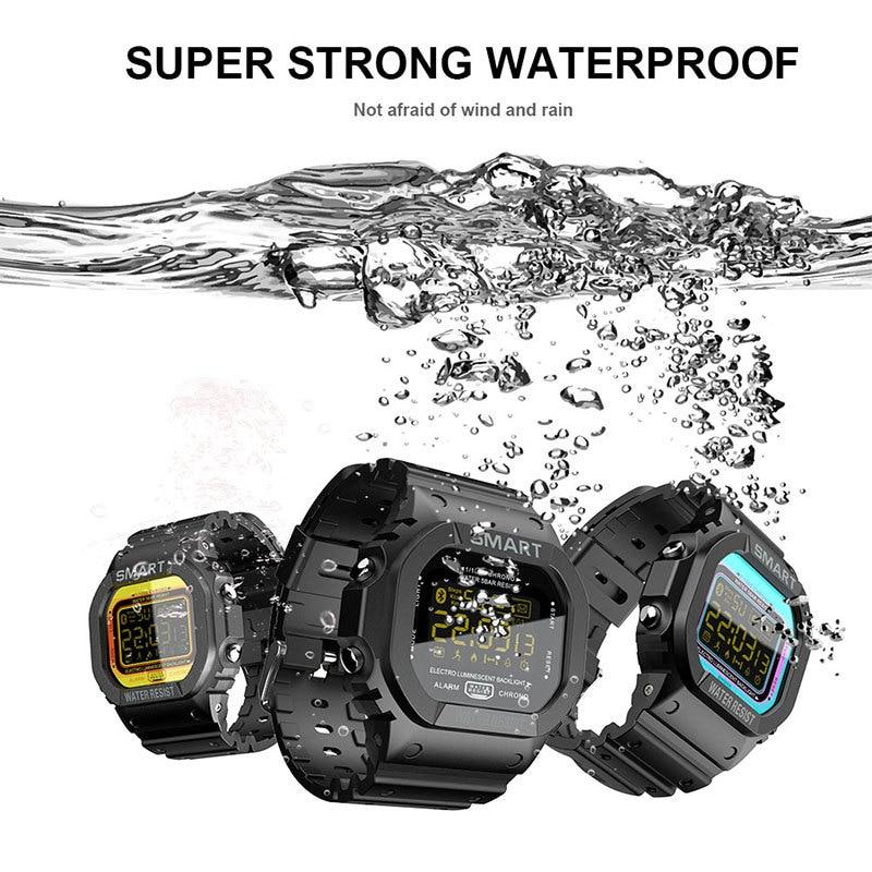 LOKMAT Sport Smart Watch For ios Android Men Bluetooth Pedometer Waterproof Call Reminder Clock Digital SmartWatch for Women Men enlarge