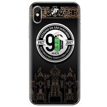For iPhone 11 Pro 4 4S 5 5S SE 5C 6 6S 7 8 X XR XS Plus Max For iPod Touch Silicone Phone Bag Case Club de Regatas Vasco da Gama