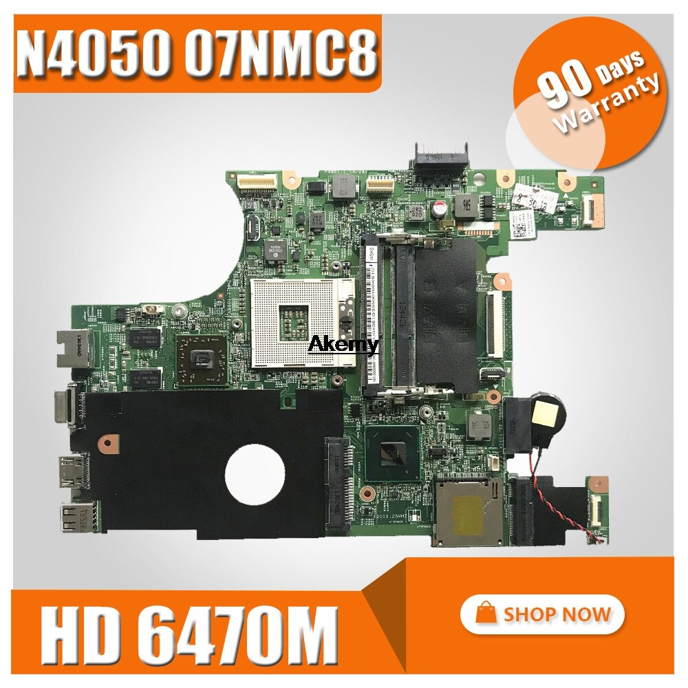 FÜR DELL 07NMC8 laptop motherboard inspiron 14 N4050 wichtigsten bord 7NMC8 HM67 w/ HD 6470M 1GB DDR3