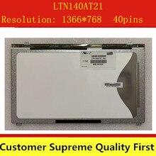 Écran LCD LED, 14 pouces, pour Samsung 1366x768 LTN140AT21-801 LTN140AT21-802 LTN140AT21-001 LTN140AT21-002 LTN140AT21