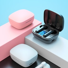 Bluetooth Headset Sports Outdoor Bluetooth 5.0  earphone headphone LED Display with mic Charging Box