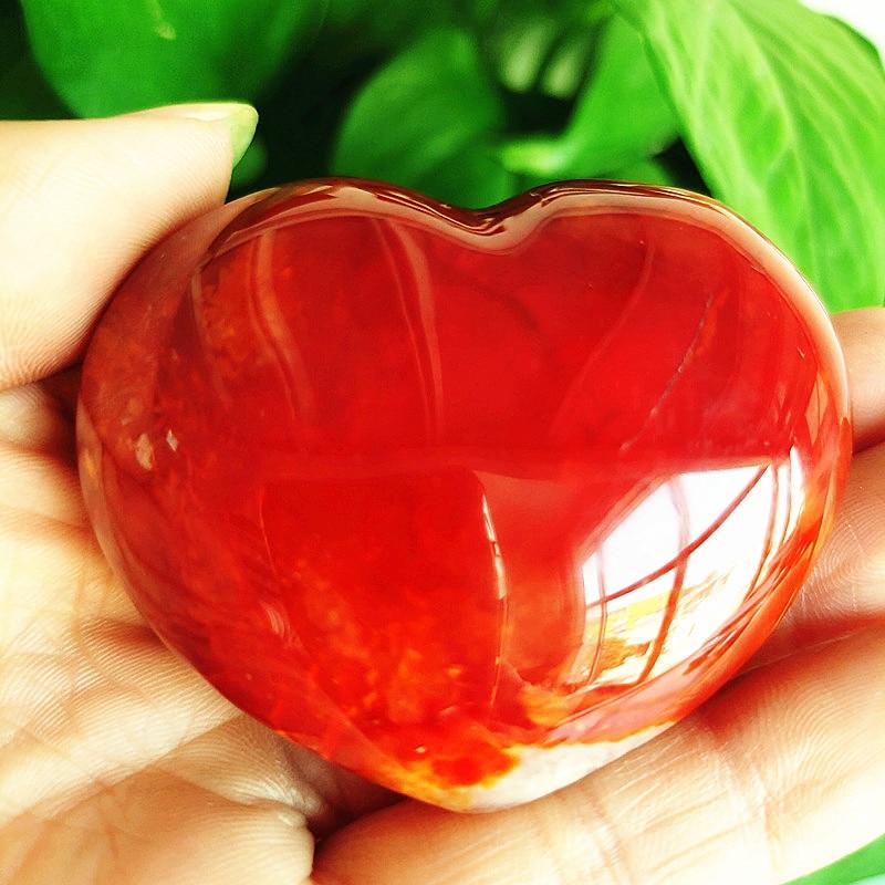 Натуральный кристалл красный Агат Сердце духовная медитация фэн шуй Сердце Форма Сердце Исцеление Кристалл домашний орнамент