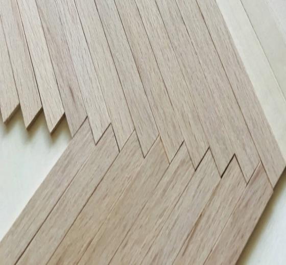200 قطعة 100x10 مللي متر Thickenss:2 مللي متر اليدوية الخشب المواد الزان العصي قطاع