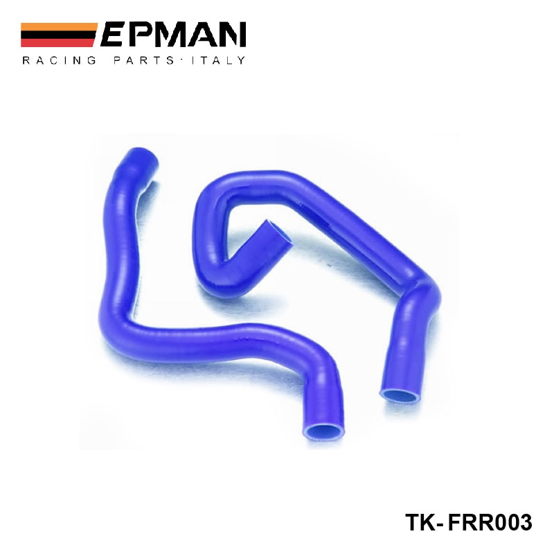 Силиконовое промежуточное турбо охлаждение радиатор Heaster шланг комплект для Ford Focus, двигатель duratec 1,8/2,0 04-08 + (2 шт) EP-FRR003