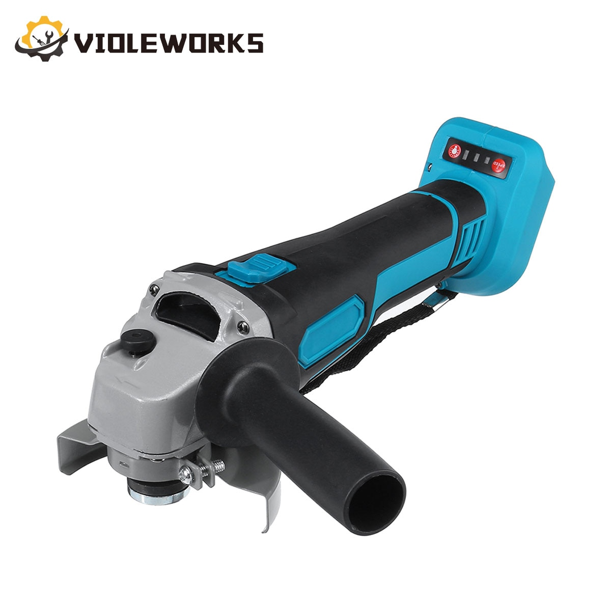 800W 18V 125mm Brushless Cordless Impact Angle Grinder Variable Speed for Makita 18V Battery Cutting Machine Grinder Polisher
