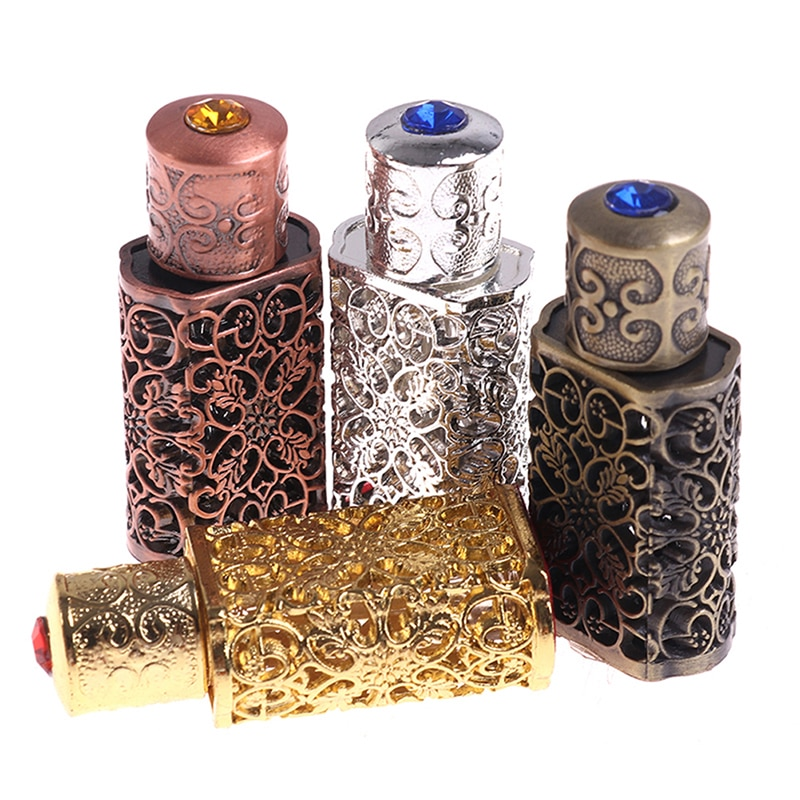 3/10ml Exquisite Parfume Refillable Bottle Arab Style Essential Oil Atomizer Perfume Spray Bottle