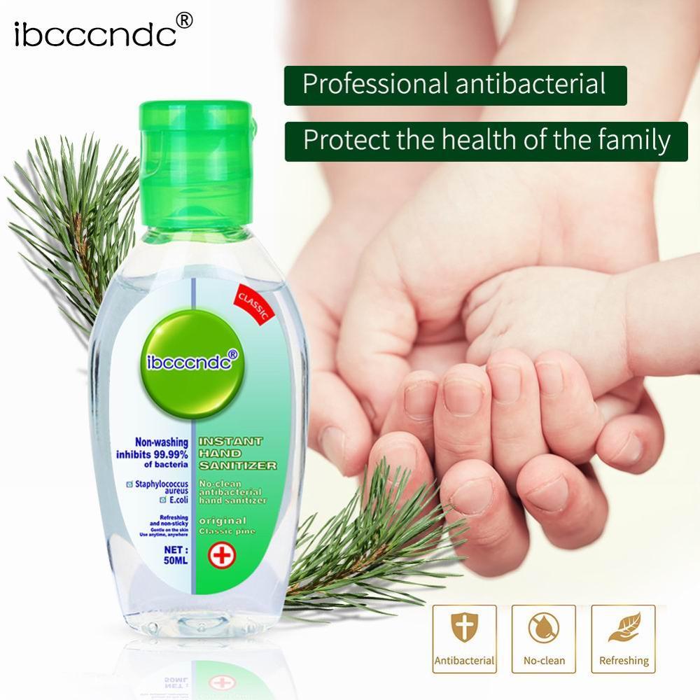 50ml travel portable mini hand sanitizer antibacterial moisturizing fruity disposable anhydrous transparent bottleDezynfekcjarąk enlarge