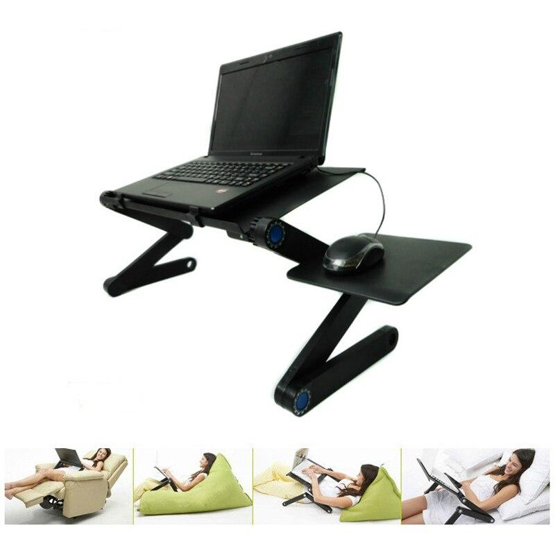 Mesa plegable portátil para ordenador portátil, bandeja de soporte de ordenador portátil para sofá cama, soporte de ordenador portátil