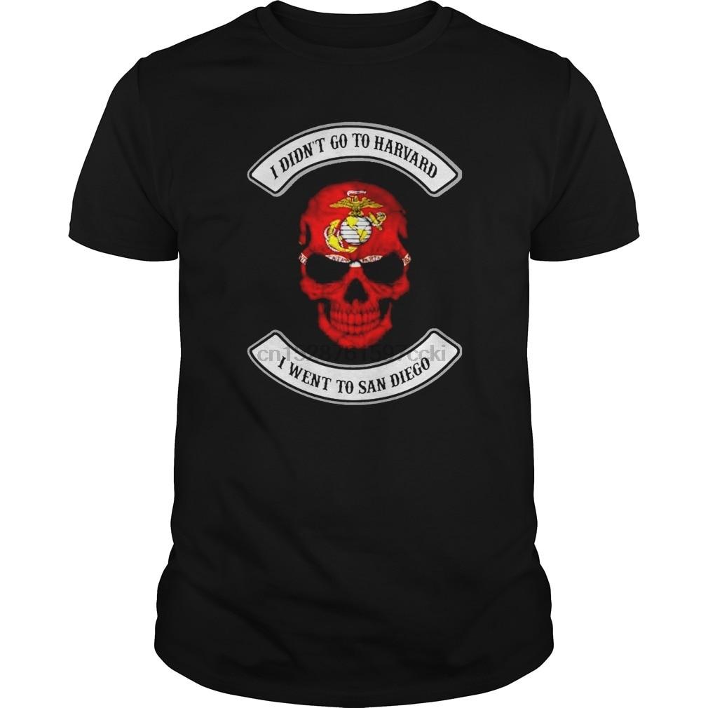 Hombres que no ir a Harvard a San Diego (1) cool camiseta camisetas top