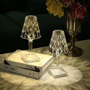 Creative Design USB Touch Led Table Lamp Battery Desk Lamp Sensor Bar Table Light Indoor Decor Restaurant Romantic Light Fixture