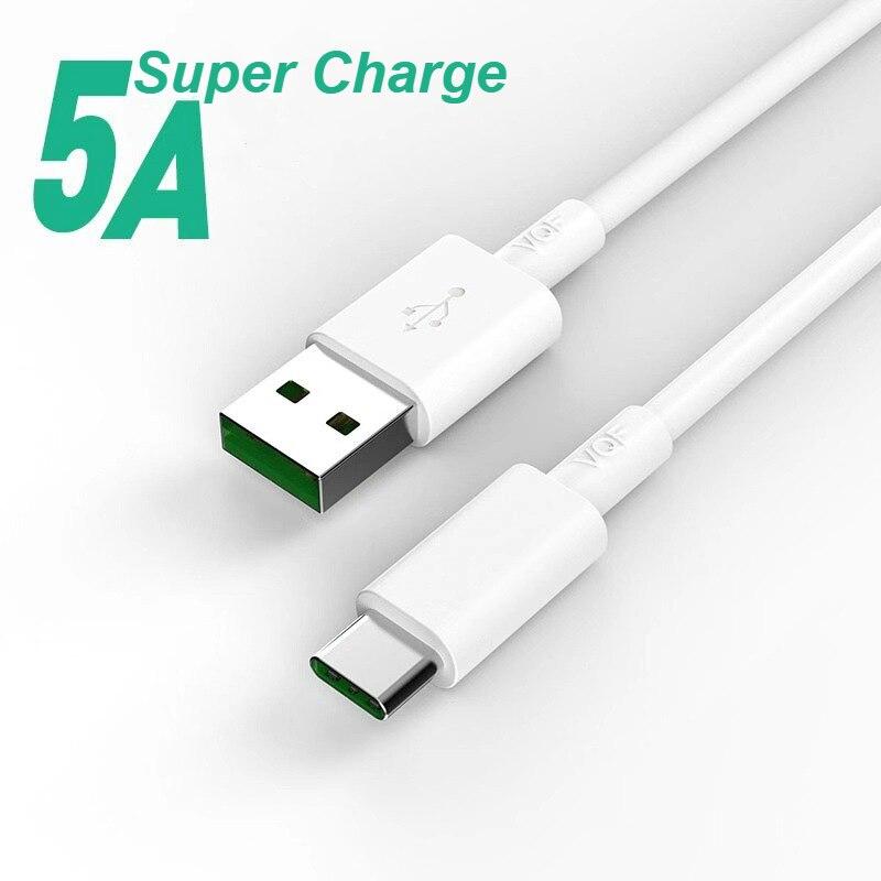 NOHON 5A USB tipo C para Huawei P20 Pro Lite para Samsung S10 9 8 A50 Xiaomi Redmi Note 7 rápido USB-C tipo-C Cable del cargador
