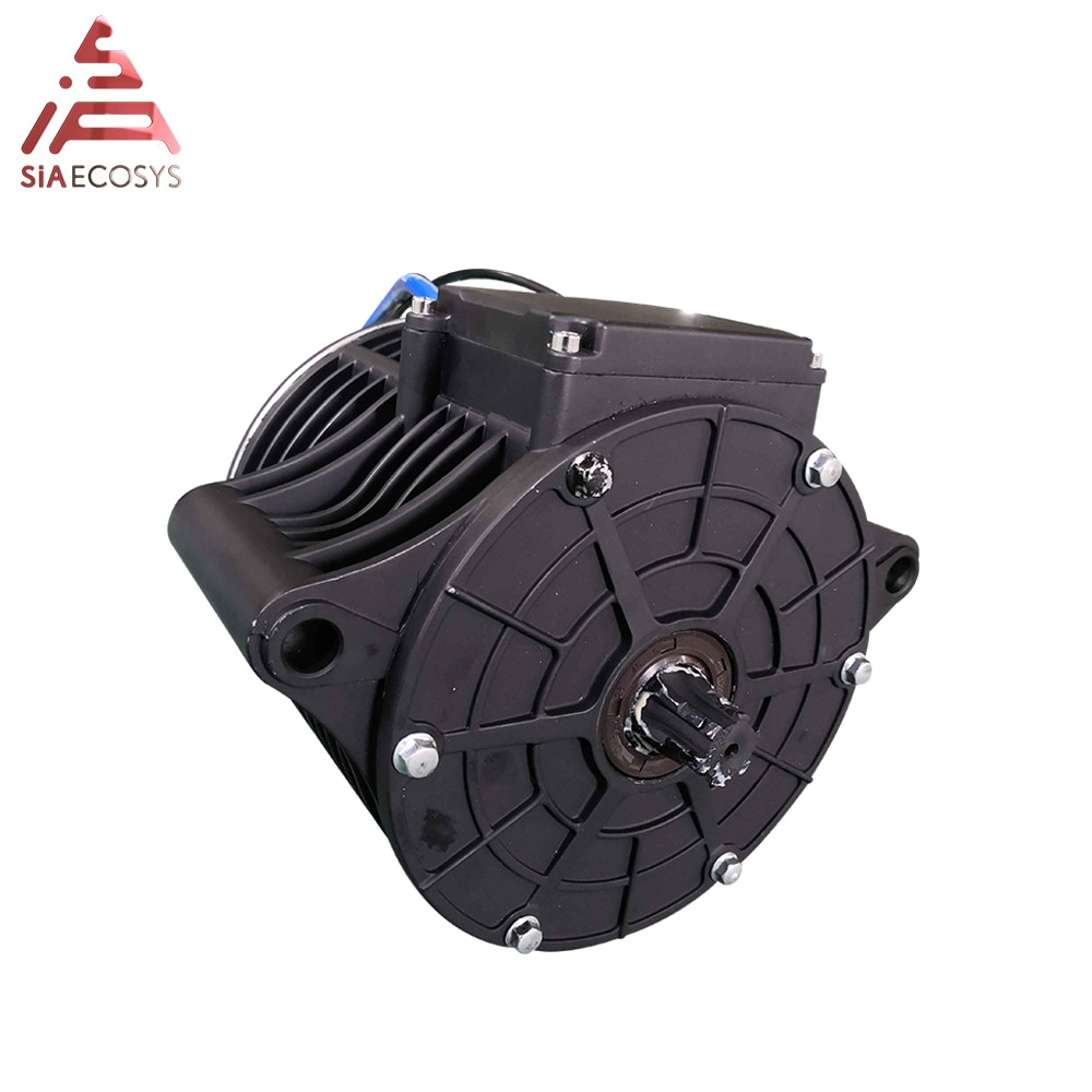 QS 138 3000W New Appearance 72V 100KPH  Mid Drive Motor Power Train Kits With Motor Controller Belt/Sprocket Type enlarge